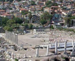 Izmirská Agora, Turecko
